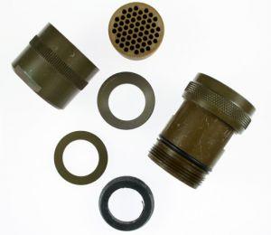 05-2058-22-55 MIL-DTL-26482 Series I Straight EMI/RFI Adapter 360 Degree