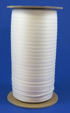 DHS170W Flat Braided Polyester Tape, Heat Shrinkable