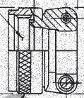 G8354-14N Glenair MIL-DTL-26482 Series II Straight saddle clamp
