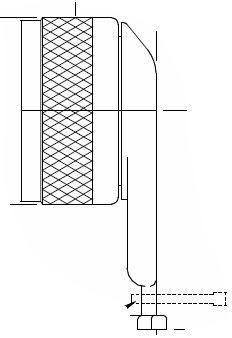 450HA001N17 Glenair MIL-DTL-38999 Series III Angled 90 Degree  Qwik-ty adapter