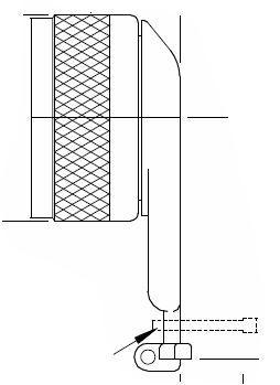 GTR1056G-15N Glenair MIL-DTL-38999 Series III, Angled 90 Degree  Qwik-ty adapter with grounding lug
