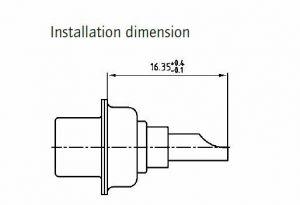 131C10149X Pin Premating High Power 40-Amp Solder Bucket  D-Sub
