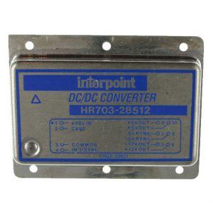 HR703-28512 Interpoint DC/DC 70w Voltage Converter