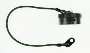 DTL3181-14ND-Z21-200MM  MIL-DTL-26482 Receptacle Cap Size-14