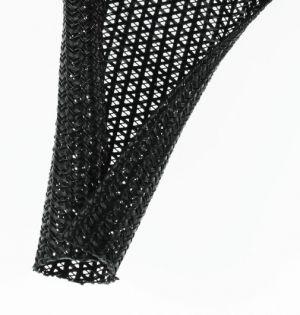 F6N0.50BK Semi-rigid Wrappable Braid PET 1/2 Inch (12.7mm)