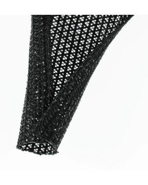 F6N1.25BK Semi-rigid Wrappable Braid PET 1-1/4 Inch (31.75mm)