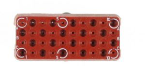 EPXE40P Radiall Rectangular Connector Insert 40-Way