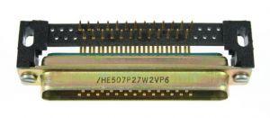 DCM27W2P1A2N ITT Cannon Plug 90 Degree  PCB 2.54 Pitch