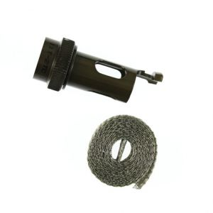 SW4-11T-2TC MIL-DTL-38999 Series III Straight screen wrap adapter with cable tie post