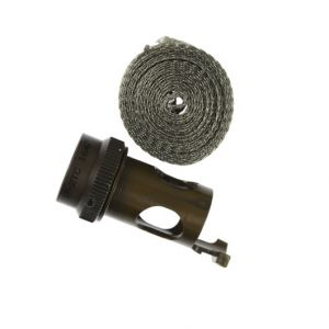 SW4-13T-2TC MIL-DTL-38999 Series III Straight screen wrap adapter with cable tie post