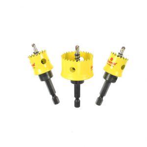 KCS03001 Starrett Hole Saw Kit 20mm 25mm 32mm