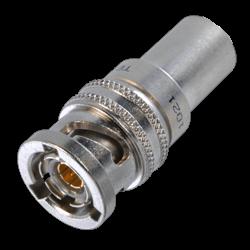 PLR75C-221 Trompeter Twinax/Triax 3-Lug TRB Plug Full Crimp