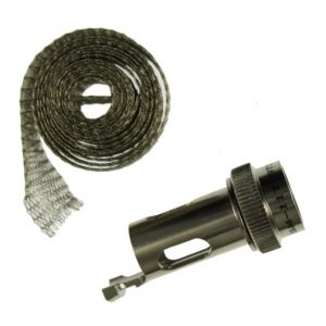 SW4-11T-3TC MIL-DTL-38999 Series III Straight screen wrap adapter with cable tie post