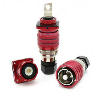 XNY-T2001SAR HIgh Voltage Cable Plug  Red